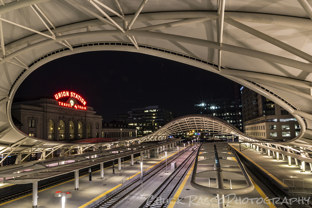 Night Train by Chuck Rasco